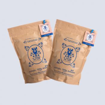 Dos bolsas de café de 500 Gms.