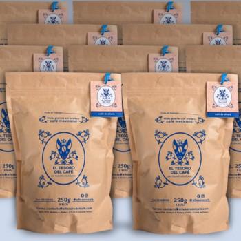 20 bolsas de café de 50 G.